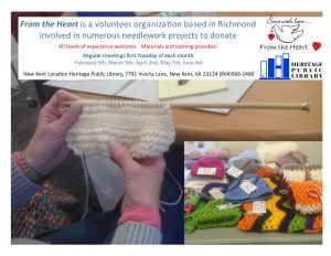 From the Heart Knitting and Needlework @ New Kent