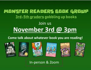 Monster Readers Book Group