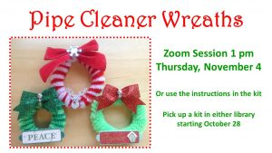Pipe Cleaner Wreaths